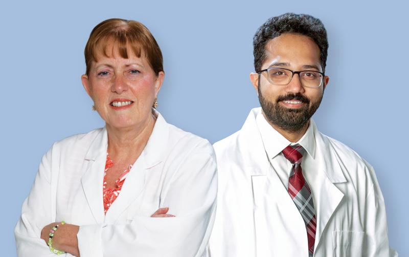 Drs. Cogar and Bhatt