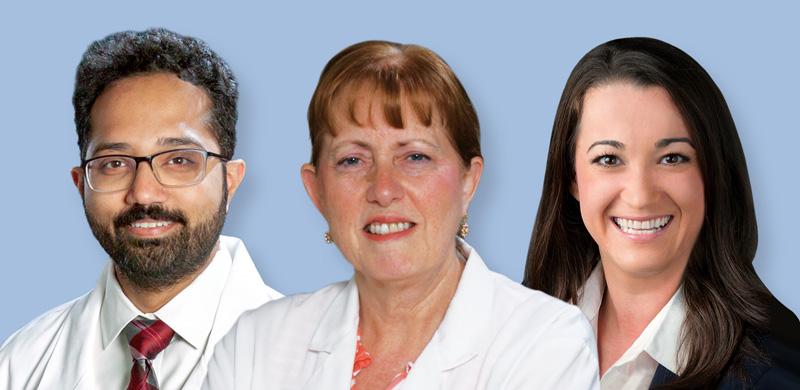 Drs. Bhatt, Cogar and Kitsos